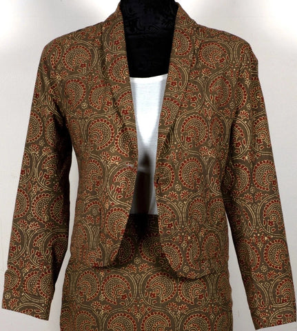 Hand Block Printed Jacket