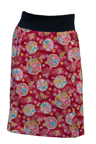 Red Meditation Skirt