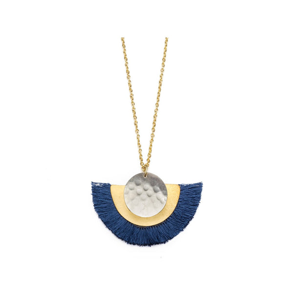 VITANA COSMOS NECKLACE - BLUE-Necklace-Aware... the social design project