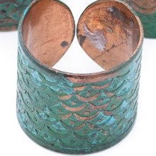 Ring - Sea Green Patina Copper-Ring-Aware... the social design project