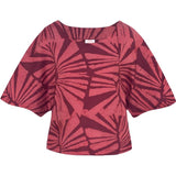 Kama Blouse Wine