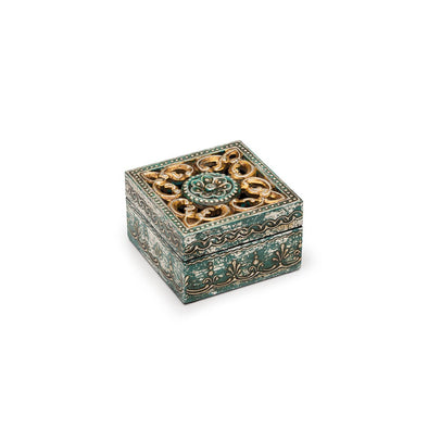 Antiqued Metal Cut Out Box-Jewellery Box-Aware... the social design project