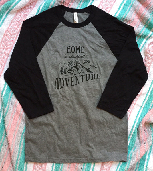 Adventure • Adult Raglan, Tees - Wicked Good Vibes