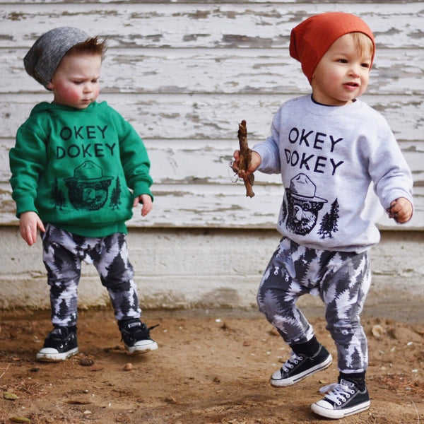 Okey Dokey • Kids Sweatshirt, Sweatshirt - Wicked Good Vibes