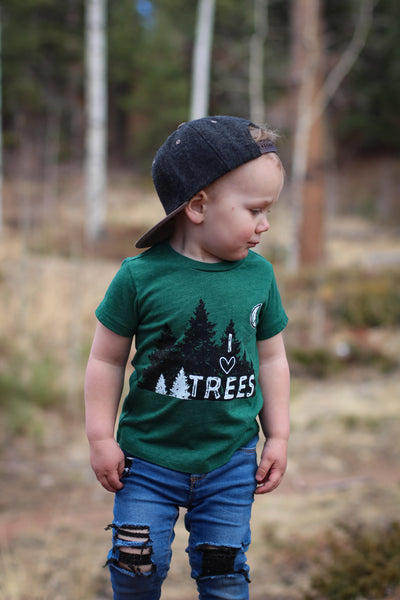 Tree Love • Kids Tee, Tees - Wicked Good Vibes
