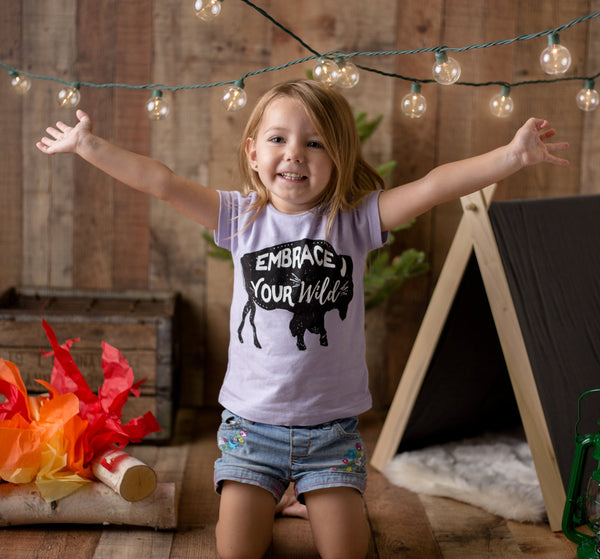 Embrace Your Wild • Kids Tee, Tees - Wicked Good Vibes