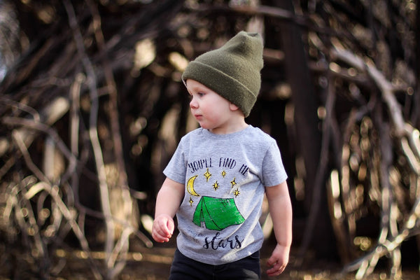 Under The Stars • Kids, Tees - Wicked Good Vibes
