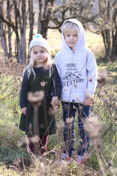Adventure • Kids Sweatshirt, Tees - Wicked Good Vibes