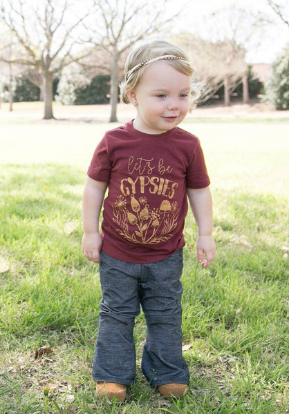 Let's Be Gypsies • Kids Tee, Tees - Wicked Good Vibes