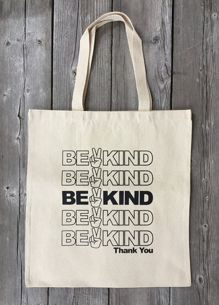 Be Kind Tote, Tote Bag - Wicked Good Vibes