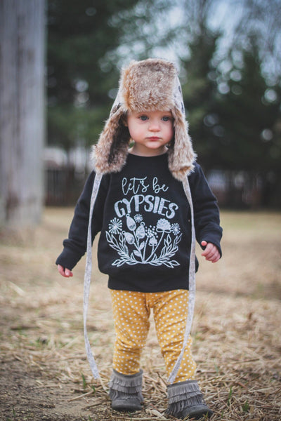 Let's Be Gypsies • Kids Sweatshirt, Tees - Wicked Good Vibes