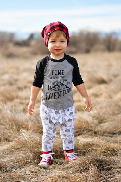 Adventure • Kids Raglan, Tees - Wicked Good Vibes