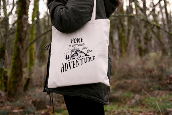 Adventure Tote, Tote Bag - Wicked Good Vibes