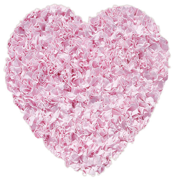 The Rug Market Shaggy Raggy Pink 2206 Area Rug