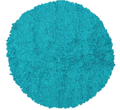 The Rug Market Shaggy Raggy Teal 2223 Area Rug