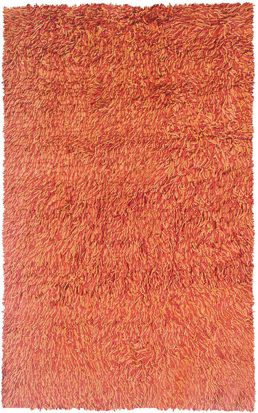 The Rug Market Fusilli Rust/Red 9602 Area Rug