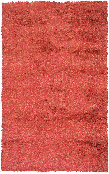 The Rug Market Motion Red/Bur/Gold 9609 Area Rug