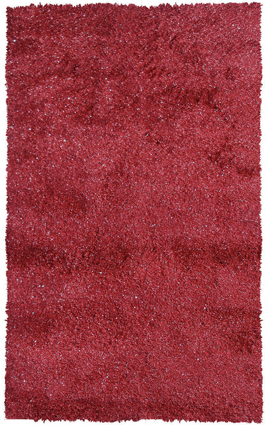 The Rug Market Sparkles Red 9749 Area Rug