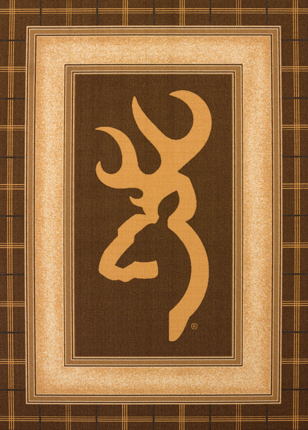 United Weaver Browning Buckmark Area Rug