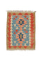 "Oriental Turkish Kilim Turkish 2' 10"" X 3' 8"" Handmade Rug"