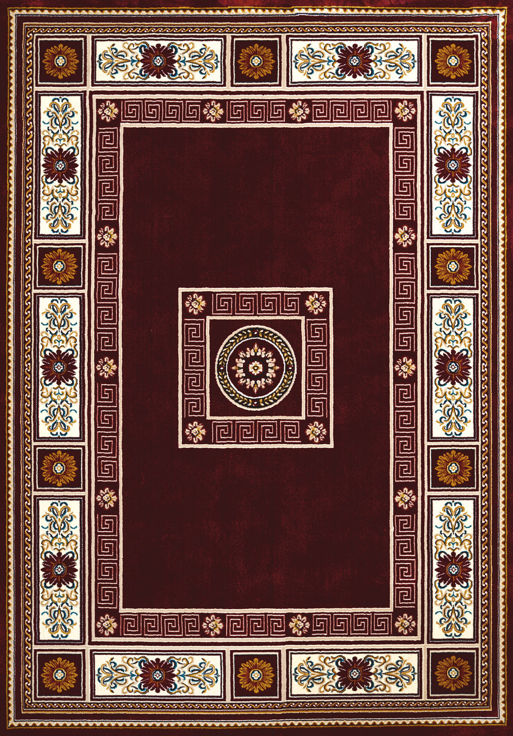 United Weaver Antiquities Oriental Border Area Rug