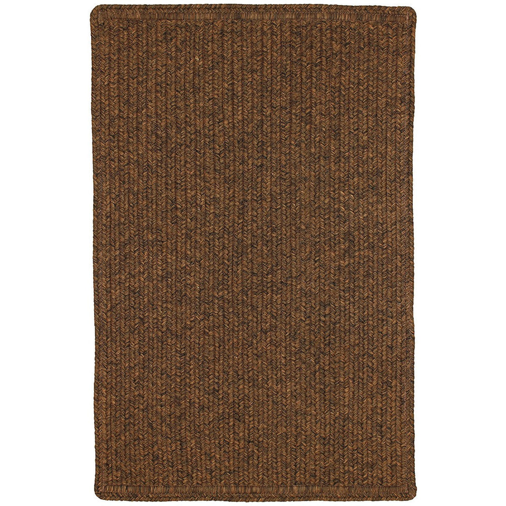 Homespice Decor Burnished Brown Indoor/Outdoor Braided Mat - Sky Home Decor