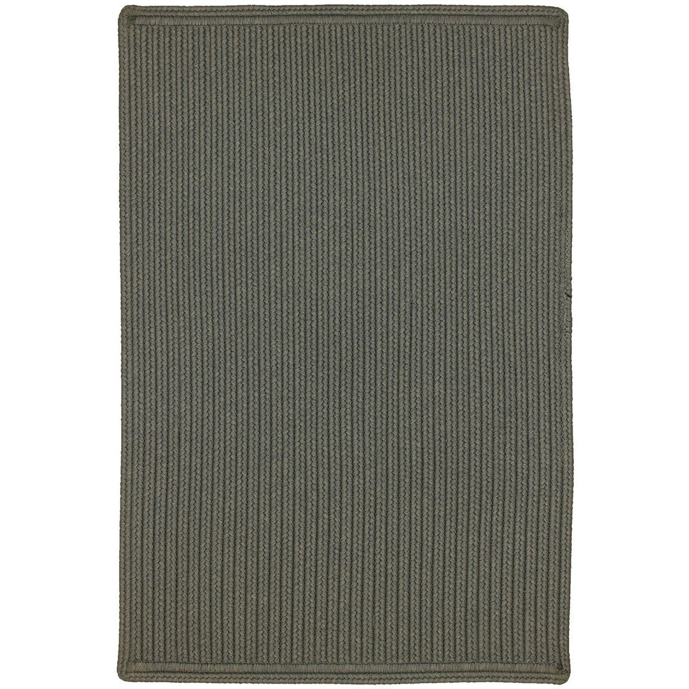 Homespice Decor Dove Indoor/Outdoor Braided Mat - Sky Home Decor