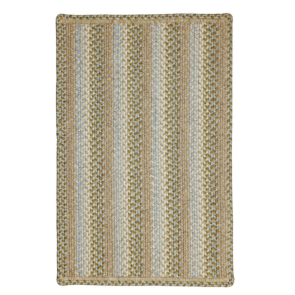 Homespice Decor Skyland Indoor/Outdoor Braided Mat - Sky Home Decor