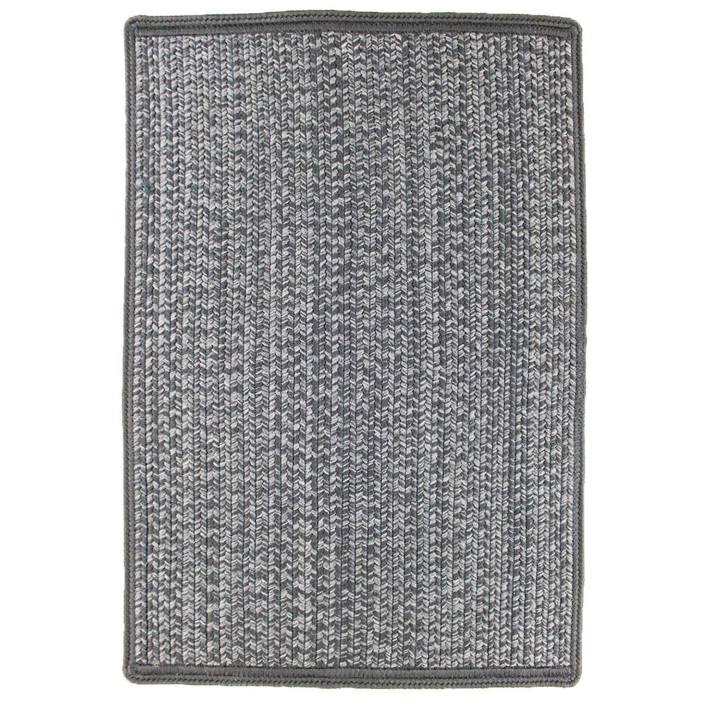 Homespice Decor Smoky Indoor/Outdoor Braided Mat - Sky Home Decor