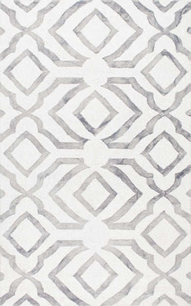 nuLOOM Hand Looped Baggett Area Rug