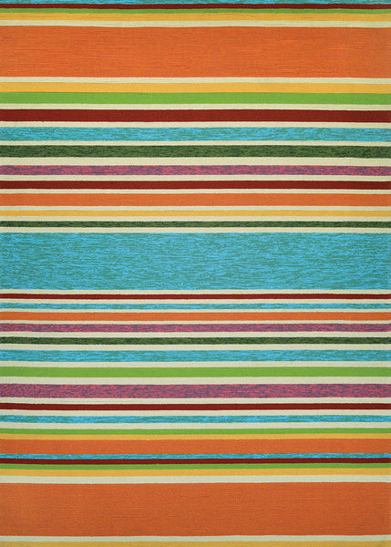 Couristan Covington Sherbet Stripe Area Rug