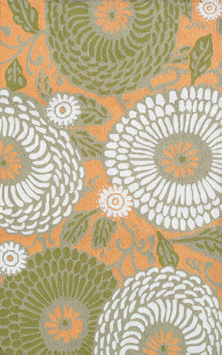 The Rug Market Dandelion Orange 25261 Area Rug