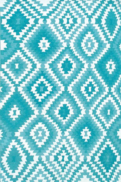The Rug Market Navajo Teal 25454 Area Rug