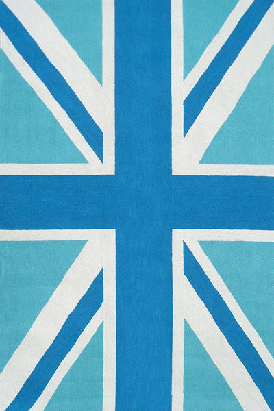 The Rug Market Union Jack Blue 25463 Area Rug