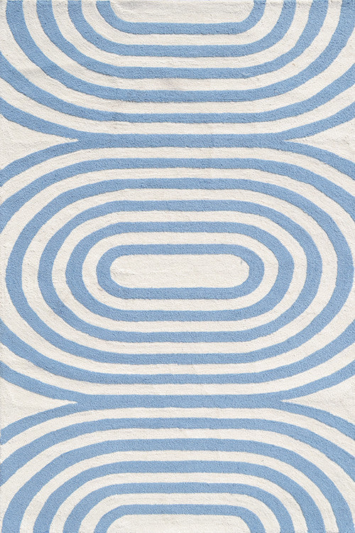 The Rug Market Mod Blue 25477 Area Rug