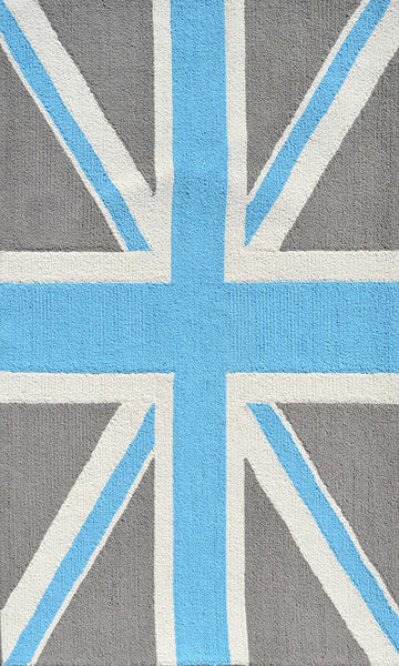 The Rug Market Union Jack Gray 25614 Area Rug