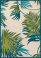 Couristan Covington Jungle Leaves Area Rug