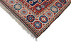 "Vintage Tribal Turkish Kazak Rug' 3"" X 6' 5"" Handmade Rug"