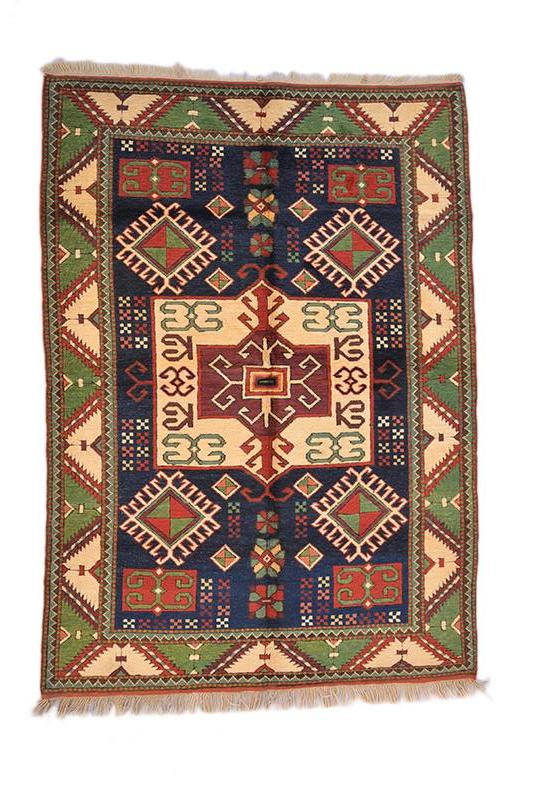 "Oriental Turkish Kilim Turkish 4' 0"" X 5' 8"" Handmade Rug"