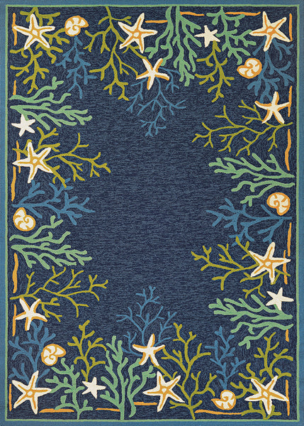 Couristan Outdoor Escape Sea Water Area Rug