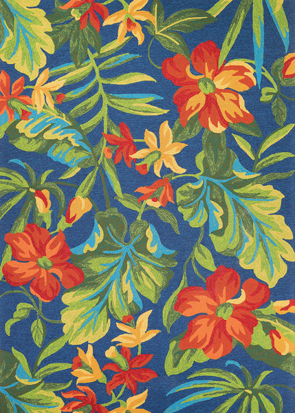Couristan Covington Tropical Orchid Area Rug