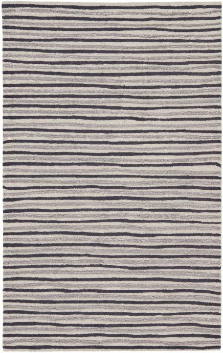 Safavieh Martha Stewart MSR3619C-Hand-Drawn Stripe Wampum Purple Rug