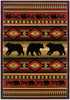 United Weaver Contours John Q Native Bearcot Area Rug