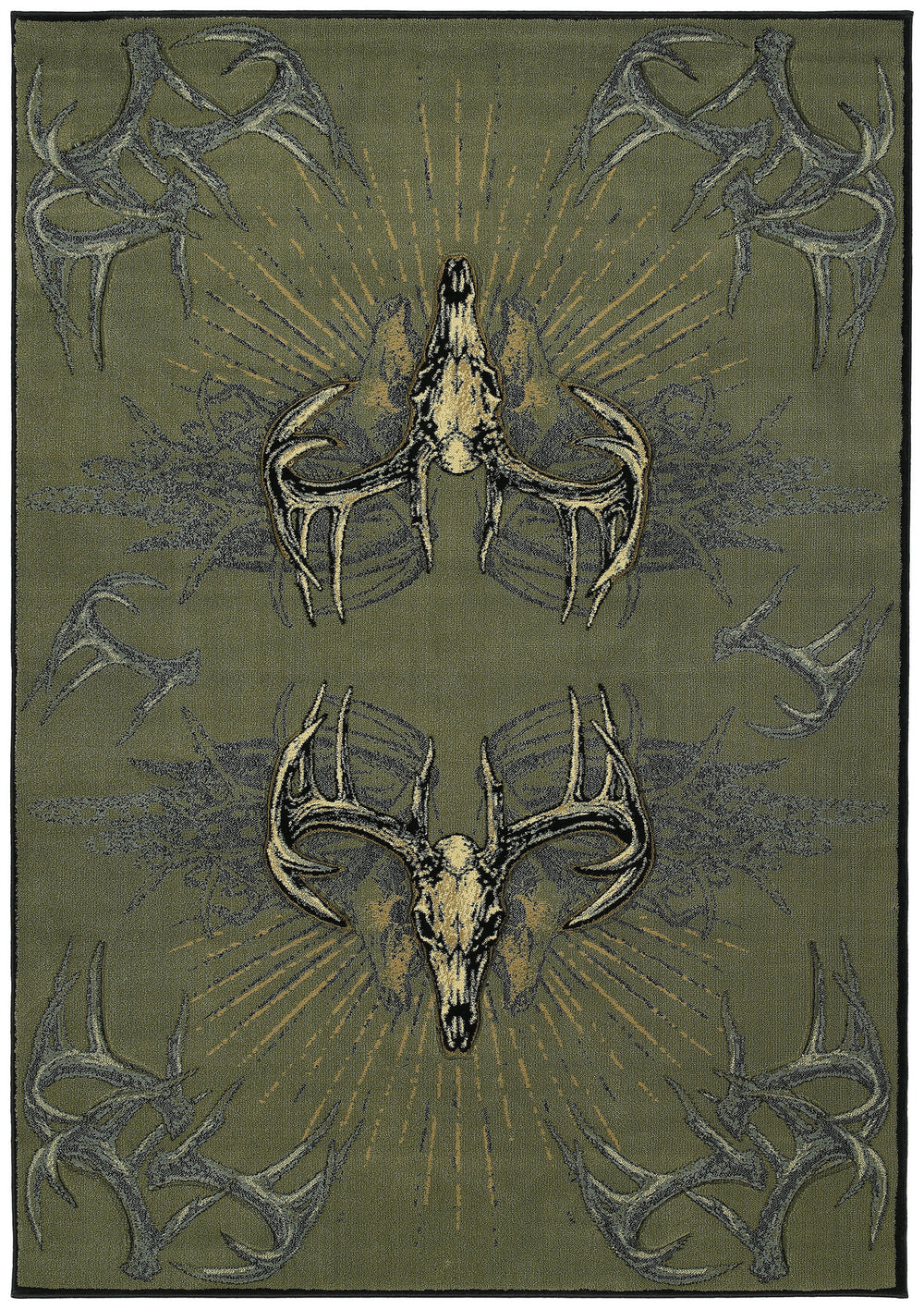 United Weaver Contours Dcbw Legend Killers Area Rug