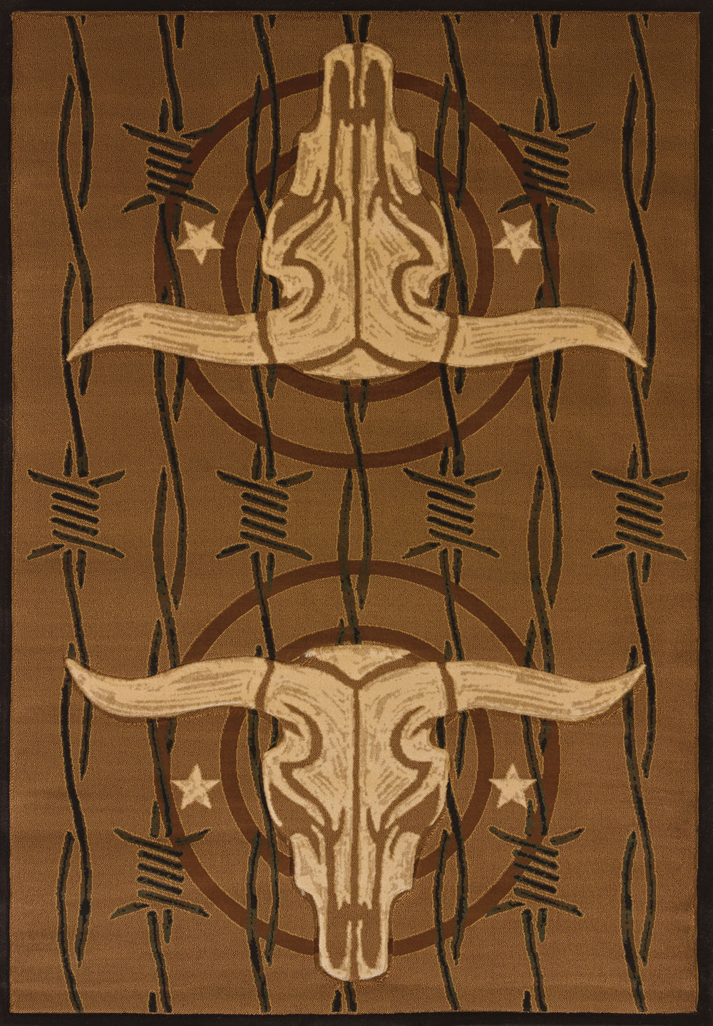 United Weaver Contours Dcbw Cowboy Strong Area Rug