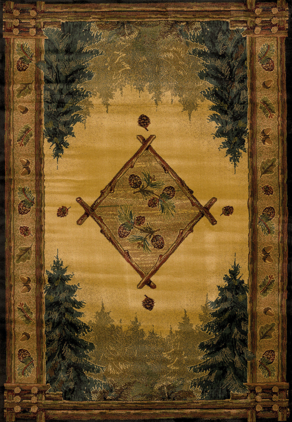 United Weaver Genesis Forest Trail Area Rug