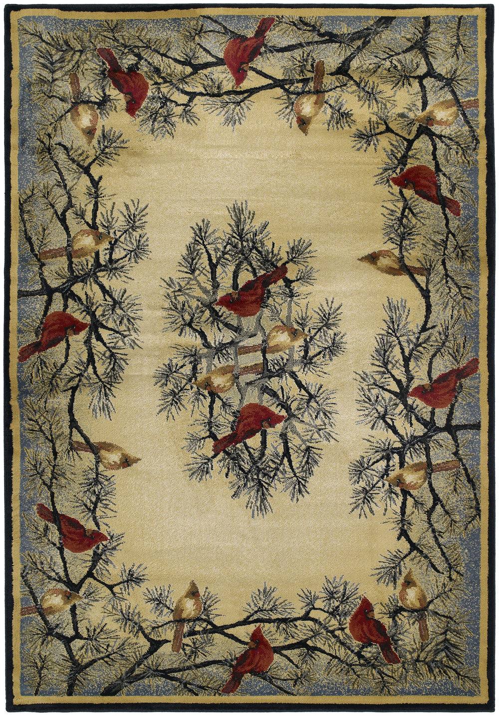 United Weaver Hautman Cardinal In Area Rug