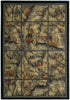 United Weaver Hautman Camouflage Grid Area Rug