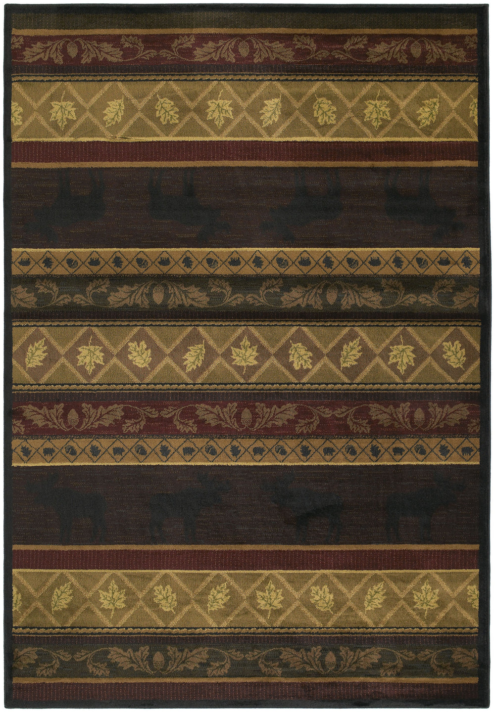 United Weaver Marshfield Genesis Moose Area Rug