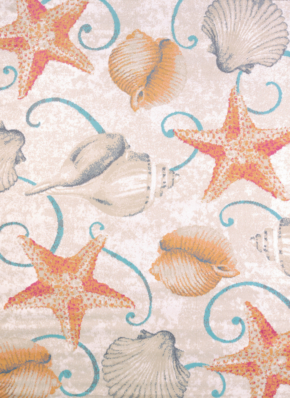 United Weaver Regional Conecepts Stars And Shells Area Rug
